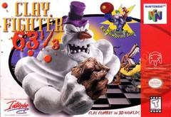 ClayFighter 63 1 3 BOXED COMPLETE    NINTENDO 64
