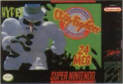 ClayFighter Tournament Edition DMG LABEL    SUPER NINTENDO ENTERTAINMENT SYSTEM