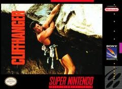 Cliffhanger DMG LABEL    SUPER NINTENDO ENTERTAINMENT SYSTEM