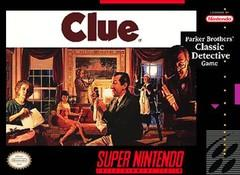 Clue    SUPER NINTENDO ENTERTAINMENT SYSTEM
