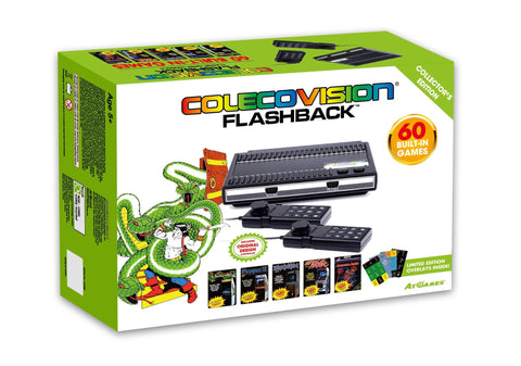 ColecoVision Flashback Plug & Play Console    RETRO NEW HARDWARE
