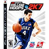 College Hoops 2K7 DISC ONLY    PLAYSTATION 3