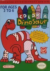 Color a Dinosaur BOXED COMPLETE    NINTENDO ENTERTAINMENT SYSTEM