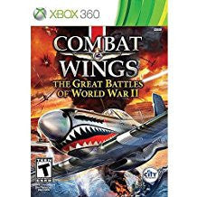 Combat Wings The Great Battles of WWII    XBOX 360
