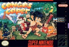 Congos Caper    SUPER NINTENDO ENTERTAINMENT SYSTEM