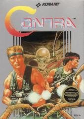 Contra BOXED COMPLETE    NINTENDO ENTERTAINMENT SYSTEM