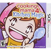 Cooking Mama 4 Kitchen Magic    NINTENDO 3DS