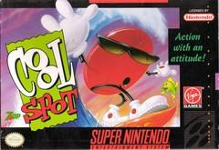 Cool Spot FACTORY SEALED    SUPER NINTENDO ENTERTAINMENT SYSTEM