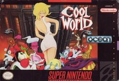Cool World DMG LABEL    SUPER NINTENDO ENTERTAINMENT SYSTEM