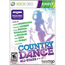 Country Dance All Stars Kinect    XBOX 360
