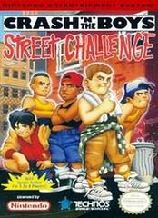 Crash n the Boys Street Challenge DMG LABEL    NINTENDO ENTERTAINMENT SYSTEM