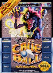 Crue Ball DMG LABEL    SEGA GENESIS