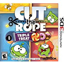 Cut the Rope Triple Threat    NINTENDO 3DS