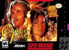 Cutthroat Island BOXED COMPLETE    SUPER NINTENDO ENTERTAINMENT SYSTEM
