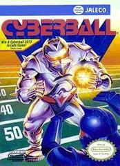 Cyberball DMG LABEL    NINTENDO ENTERTAINMENT SYSTEM
