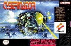 Cybernator BOXED COMPLETE    SUPER NINTENDO ENTERTAINMENT SYSTEM