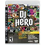 DJ Hero DISC ONLY    PLAYSTATION 3