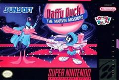Daffy Duck The Marvin Missions BOXED COMPLETE    SUPER NINTENDO ENTERTAINMENT SYSTEM