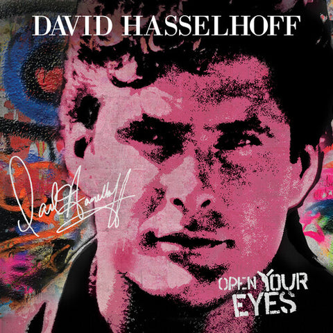 David Hasselhoff - Open Your Eyes (Limited Red Vinyl)