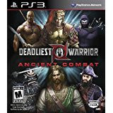 Deadliest Warrior Ancient Combat    PLAYSTATION 3