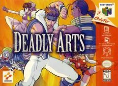 Deadly Arts BOXED COMPLETE    NINTENDO 64