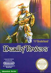 Deadly Towers DMG LABEL    NINTENDO ENTERTAINMENT SYSTEM