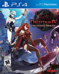 Deception IV The Nightmare Princess    PLAYSTATION 4