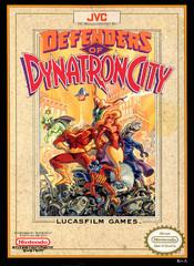 Defenders of Dynatron City DMG LABEL    NINTENDO ENTERTAINMENT SYSTEM