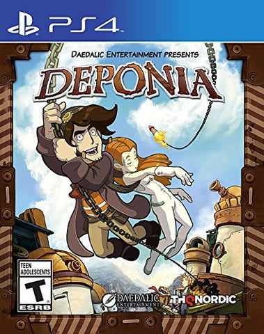 Deponia    PLAYSTATION 4