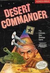 Desert Commander BOXED COMPLETE    NINTENDO ENTERTAINMENT SYSTEM