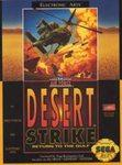 Desert Strike Return to the Gulf DMG LABEL    SEGA GENESIS