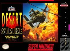 Desert Strike Return to the Gulf DMG LABEL    SUPER NINTENDO ENTERTAINMENT SYSTEM