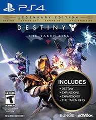 Destiny Taken King Legendary Edition    PLAYSTATION 4