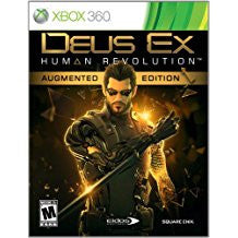 Deus Ex Human Revolution Augmented Edition    XBOX 360