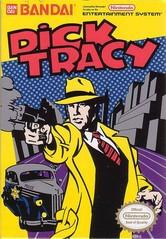 Dick Tracy DMG LABEL    NINTENDO ENTERTAINMENT SYSTEM