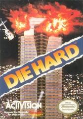 Die Hard DMG LABEL    NINTENDO ENTERTAINMENT SYSTEM