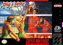 Dig and Spike Vollyball    SUPER NINTENDO ENTERTAINMENT SYSTEM