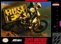 Dirt Trax FX BOXED COMPLETE    SUPER NINTENDO ENTERTAINMENT SYSTEM