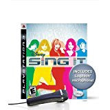 Disney Sing It Bundle With Microphone    PLAYSTATION 3