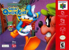 Disneys Donald Duck Goin Quackers DMG LABEL    NINTENDO 64