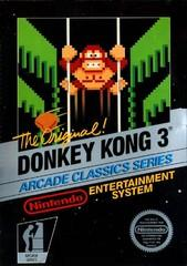 Donkey Kong 3 DMG LABEL    NINTENDO ENTERTAINMENT SYSTEM