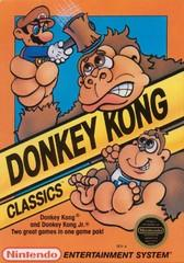 Donkey Kong Classics DMG LABEL    NINTENDO ENTERTAINMENT SYSTEM