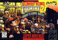 Donkey Kong Country 2 Diddys Kong Quest (Damaged Label)    SUPER NINTENDO ENTERTAINMENT SYSTEM