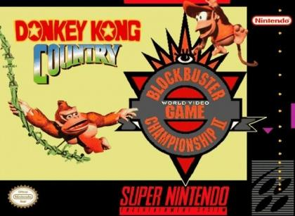 Donkey Kong Country COMPETITION EDITION    SUPER NINTENDO ENTERTAINMENT SYSTEM