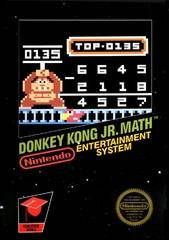 Donkey Kong Jr Math BOXED COMPLETE    NINTENDO ENTERTAINMENT SYSTEM