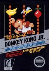 Donkey Kong Jr BOXED COMPLETE    NINTENDO ENTERTAINMENT SYSTEM