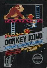 Donkey Kong DMG LABEL    NINTENDO ENTERTAINMENT SYSTEM