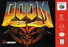 Doom 64 DMG LABEL    NINTENDO 64
