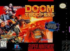 Doom Troopers BOXED COMPLETE    SUPER NINTENDO ENTERTAINMENT SYSTEM