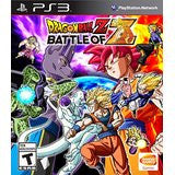 Dragon Ball Z Battle of Z    PLAYSTATION 3